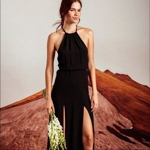 Stone Cold Fox Onyx Gown Black Size M